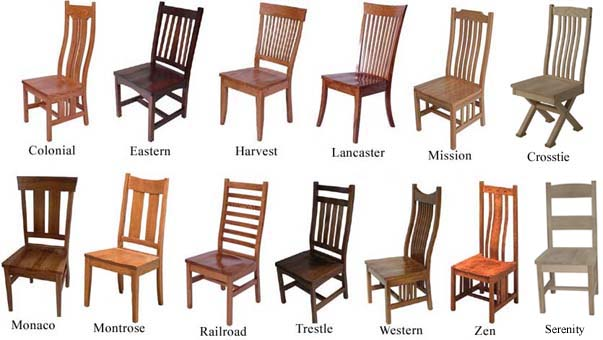 Fresh Types Of Furniture Styles With Remarkable Design Dining Room Chair Styles Impressive Ideas