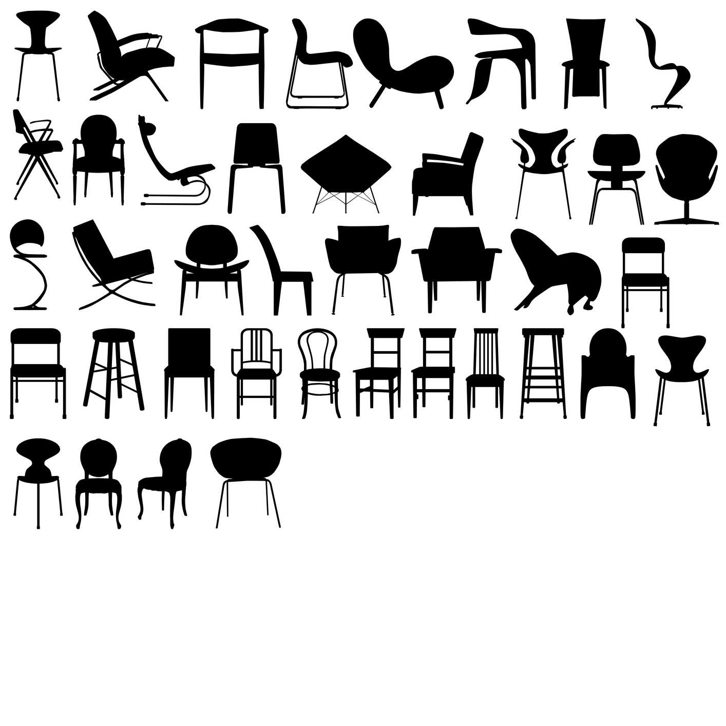 Awesome Types Of Furniture Styles With Different Types Of Chairs For Dining