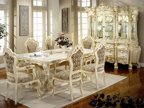Amazing Types Of Furniture Styles With Classy Victorian Style Dining Furniture