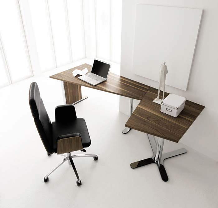 Beautiful Office Desk Modern With Home Office Desk Furniture Modern And Contemporary By Huelsta Home Ofiice Desk Design Ideas