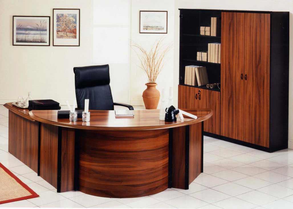 Trend Office Desk Modern With Office Desks Desks For Home Office J Shaped Wooden Desk With Black Leather Chair Red Rug Large File Cabinet Ivory Wall Paint And White Floor Tile