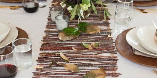 Beauty Rustic Wedding Table