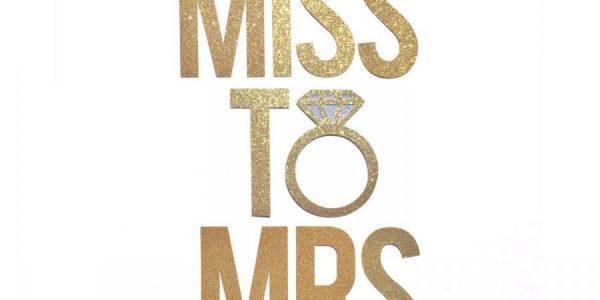 miss to mrs banner bridal shower