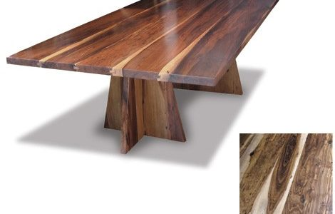 Luxury Solid Wood Dining Tables With Costantini Luca Wood Table