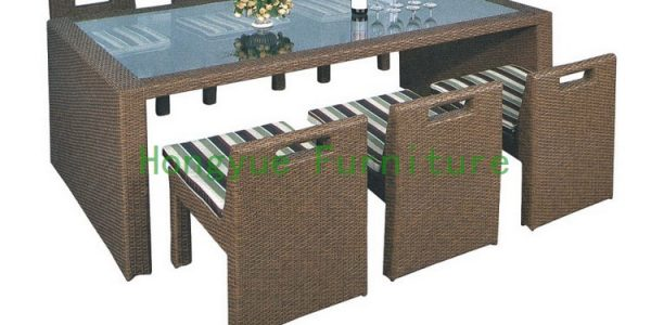 Unique Rattan Dining Table With Pe Rattan Font B Dining B Font Font B Set B Font Font B Furniture B