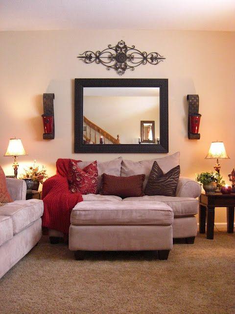 Custom Decorating Ideas for Living Room Walls | Topup Wedding Ideas