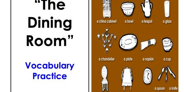 Custom Furniture Names With Bedroom Furniture Names In English Learn Dining Room Vocabulary