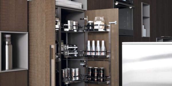 Beautiful Modern Stuff With Excellent Modern Italian Kitchen Design By Cesar Wooden Wall And Cupboard Tidy And Clean Room Mild Appliance Arrangement In Cupboard Aluminium Oven In Wall Bowls Kitchen Stuff Clean Floor Nice Decoration Idea