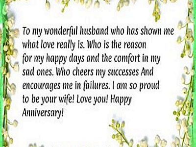 Fresh Wedding Anniversary Messages To My Husband With Message For Wedding Anniversary For My Husband