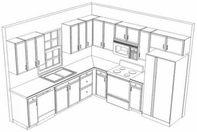 nice small kitchen layout ideas with kitchen drawing design small kitchen design layout ideas drawing modern home designs and ideas - Kitchen Design Layout Ideas
