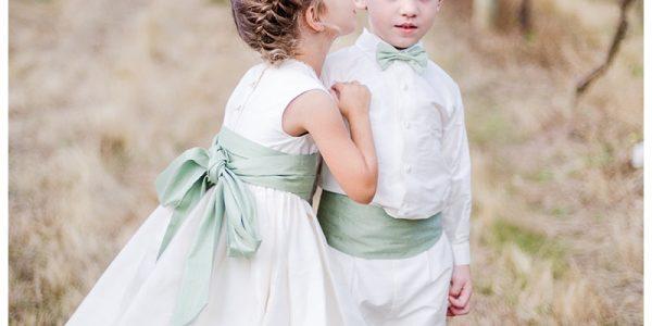 Kids in Wedding Dress