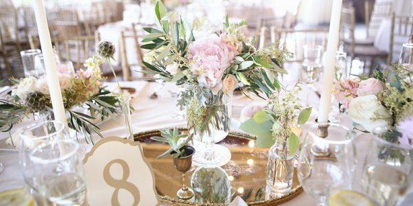 Landmark venues wedding table numbers wedding decor Kay English