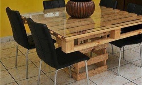 Cool Dining Table Ideas With Pallet Dining Table