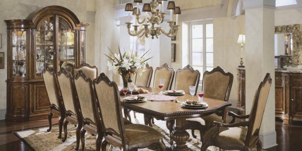 New Dining Room Chair Sets With Comely Formal Dining Room Furniture Sets With Cozy Design Ideas Wooden Flooring And Beige Padded Chair On Rug And Laminate Flooring