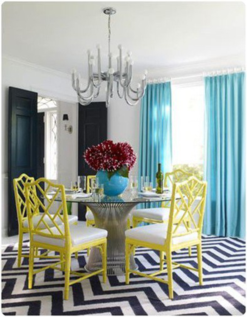 Nice Dining Room Color Ideas With Dining Room Color Schemes With Chair Rail