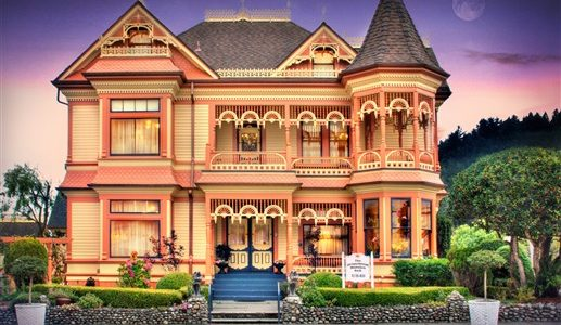 Cool California Mansion With Ferndale California Lodging Thegingerbreadmansioninn