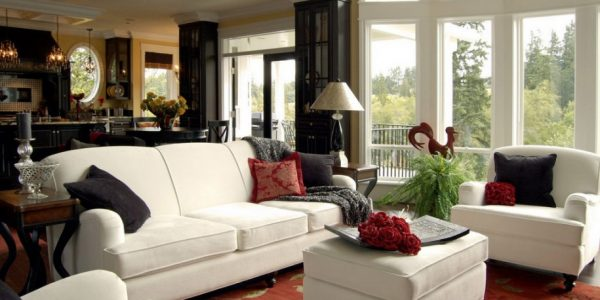 Excellent Ideas For Decorating Living Room With Endearing Living Room Decorating Themes With Elegant White Sofa Sets Furniture Ideas Living Room Design Ideas Pictures New Living Room Design Ideas New Living Room Design Ideas