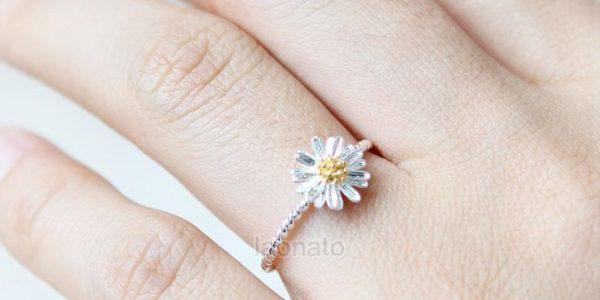 Daisy Wedding Ring
