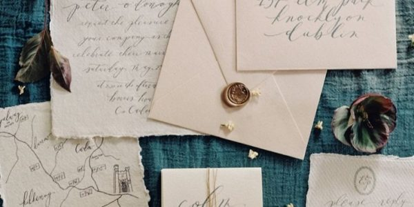 Charming Borris House Wedding in Ireland, for your Aesthetic Wedding Invitation Ideas that You Can Make Yourself