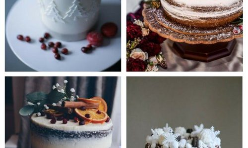 Winter Wedding Cake Types That Wow
