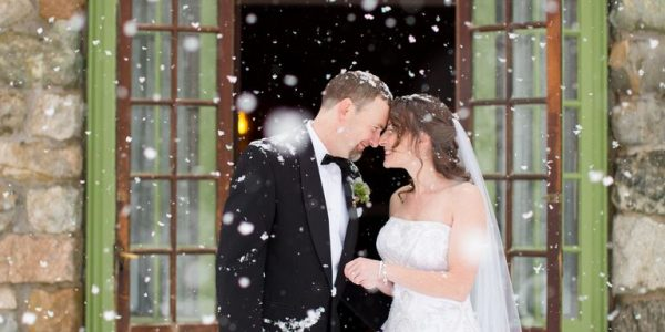 THE HOTTEST WINTER WEDDING
