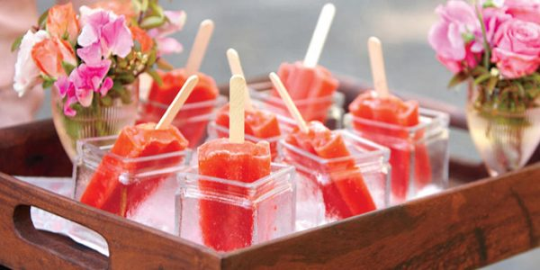 Popsicles are all the rage, and I don't think they'll be going out of fashion any time soon