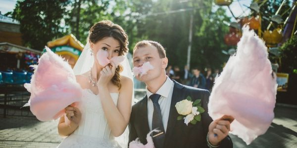 Get Inspired By These Fun And Favourite Sweet Cotton Candy Wedding Ideas