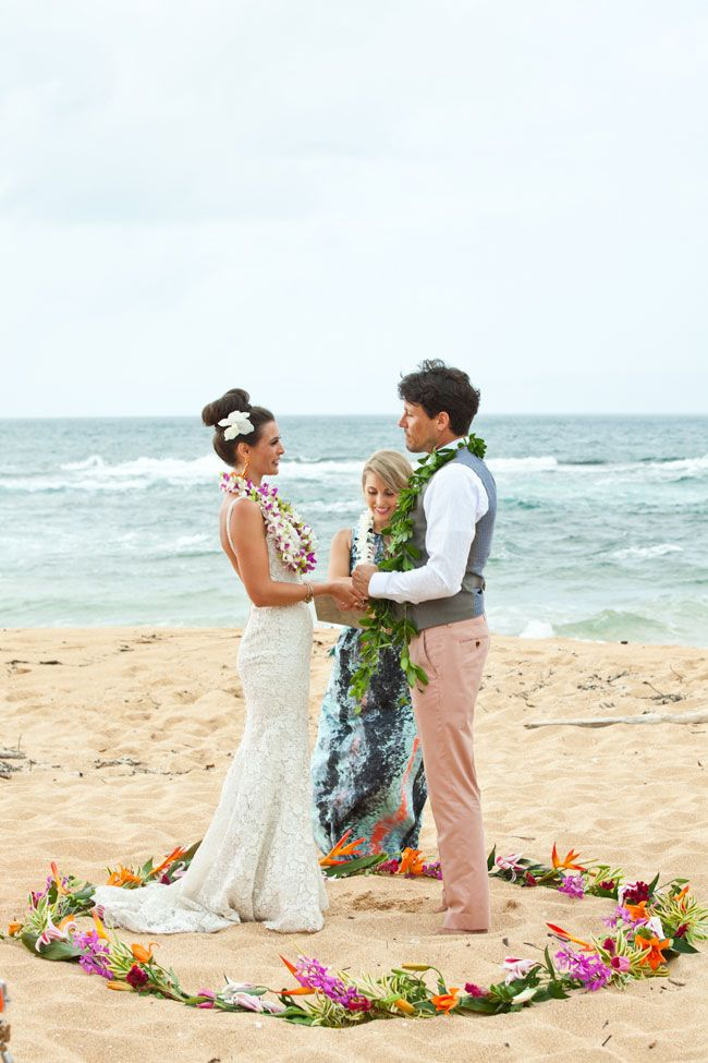 Head for the destination of destination weddings and hop on a plane to Hawaii