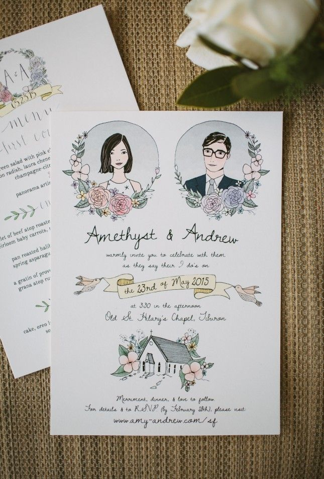 Shannon Kirsten is an expert in flora-inspired invites