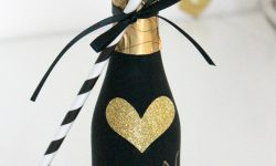 Allow your friends and family to keep the party going by giving them their own personal bottle of champagne to pop