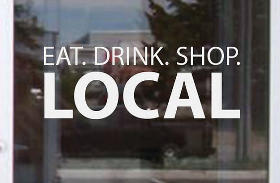 Support Dunmore, Shop Local