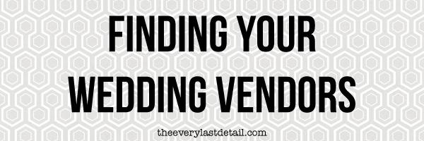 {Thursday Tips} Finding Your Wedding Vendors via TheELD.com