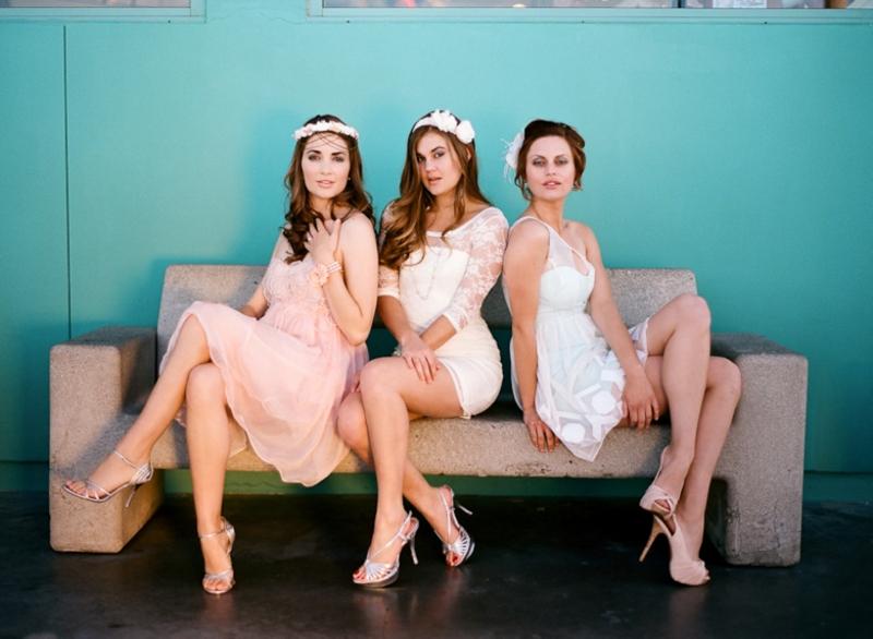 Simple, Fashionable Bridal Shower & Bridesmaid Inspiration via TheELD.com