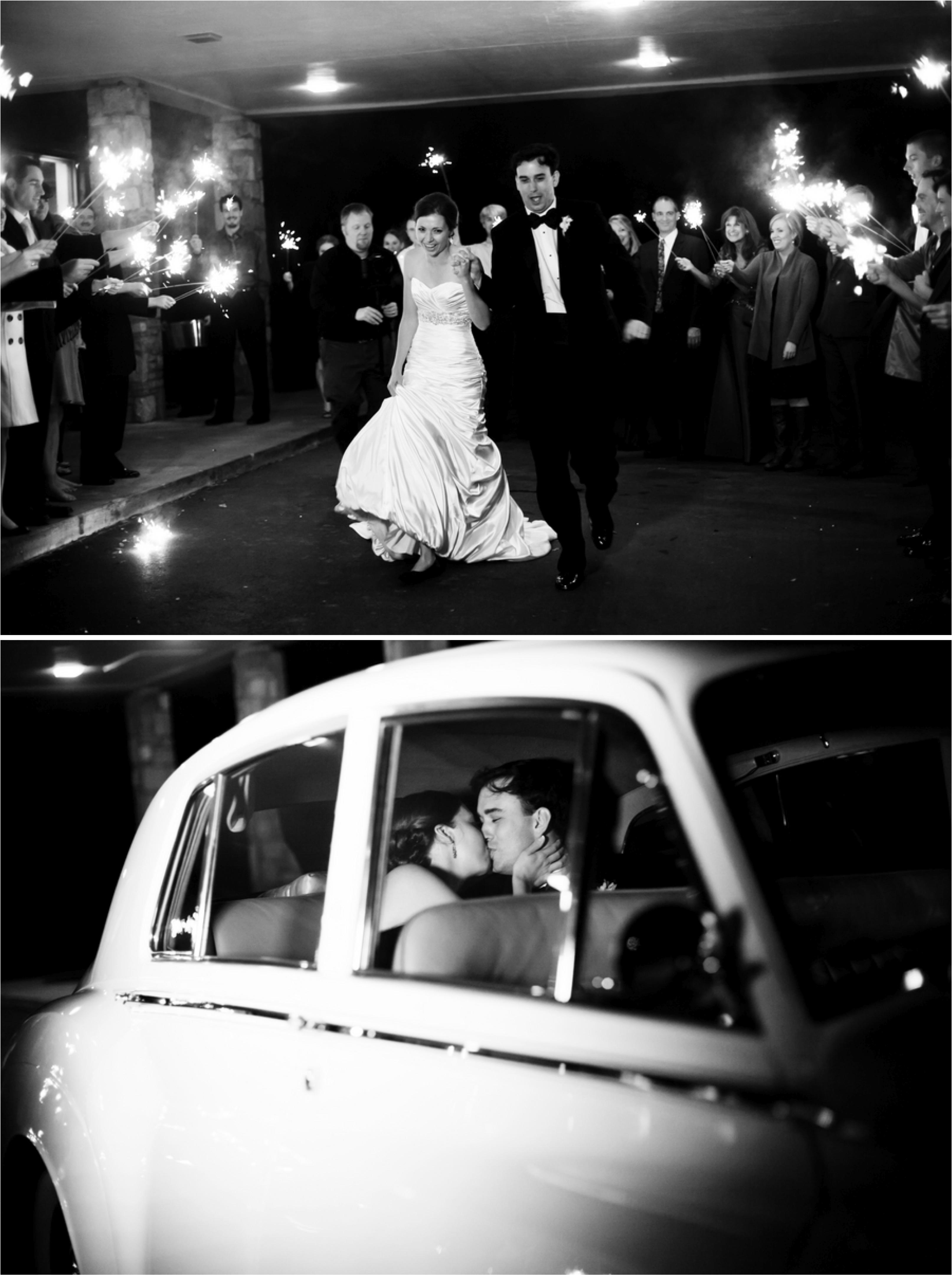 Classic Black & White Tennessee Wedding via TheELD.com