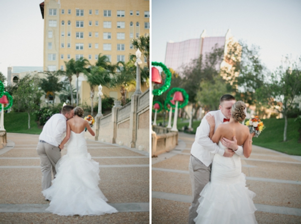 Eclectic Carnival Themed Florida Wedding via TheELD.com