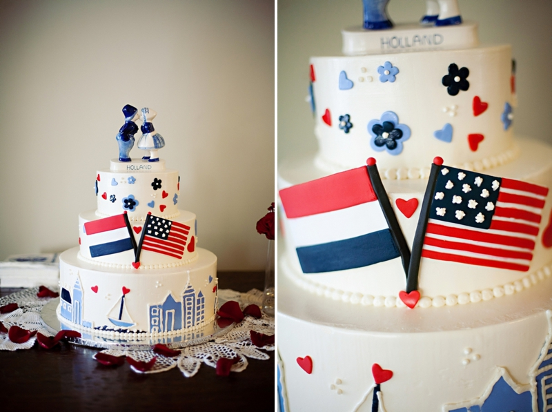 Dutch american wedding