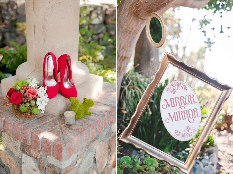 Rustic Snow White Wedding Inspiration via TheELD.com