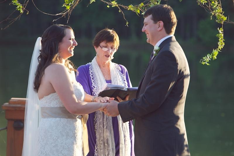 Purple & Green Rustic North Carolina Wedding  via TheELD.com