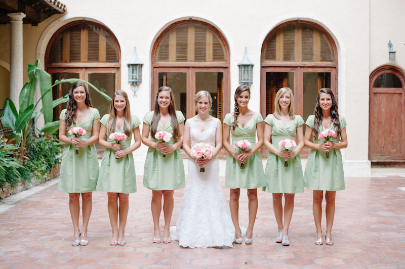 Pale pink and mint green florida wedding every last detail pale pink and mint green florida wedding via theeld junglespirit Images