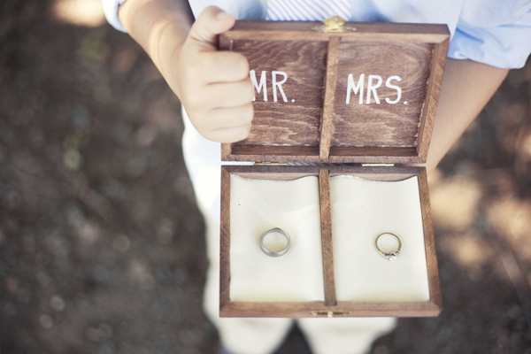 Detail To Love: Ring Bearer Box via TheELD.com