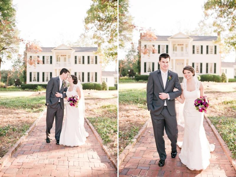 Classic Purple and Green Georgia Wedding via TheELD.com
