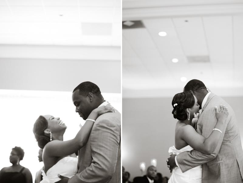 Modern Elegant Orange Florida Wedding via TheELD.com