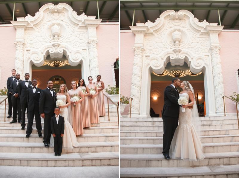 Modern Chic White Wedding via TheELD.com