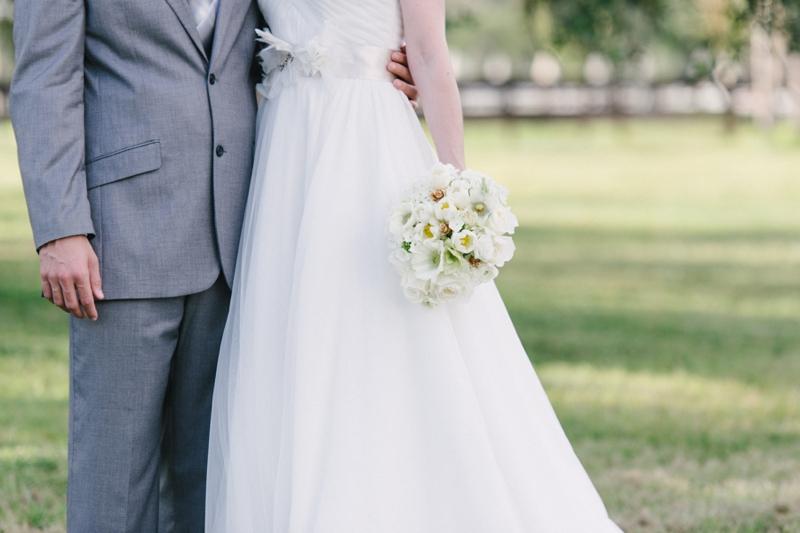Rustic and Modern White Wedding Inspiration via TheELD.com