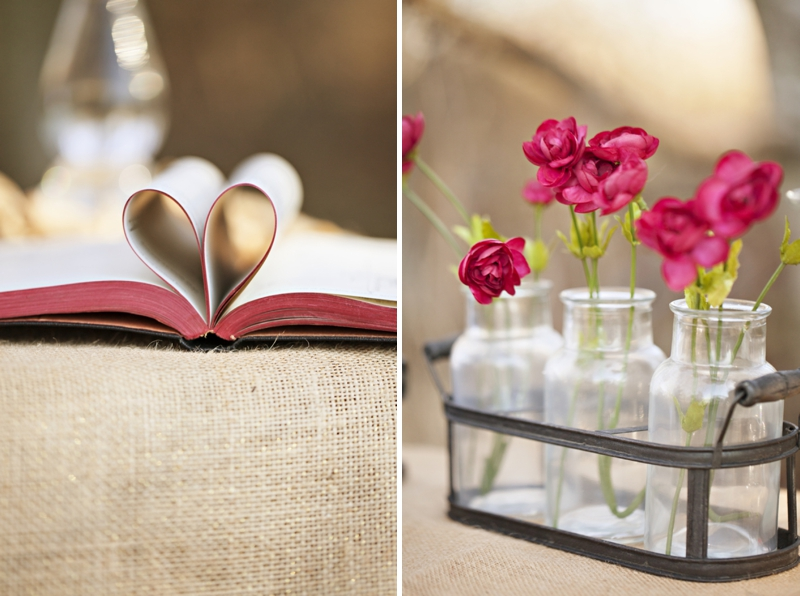 Maroon, Burgundy and Gold Valentines Day Inspiration via TheELD.com