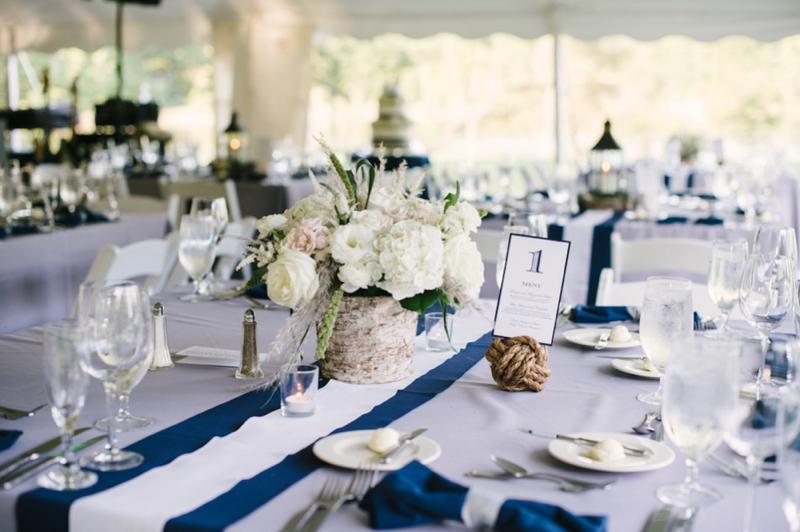 Elegant Nautical Maryland Wedding Via TheELD