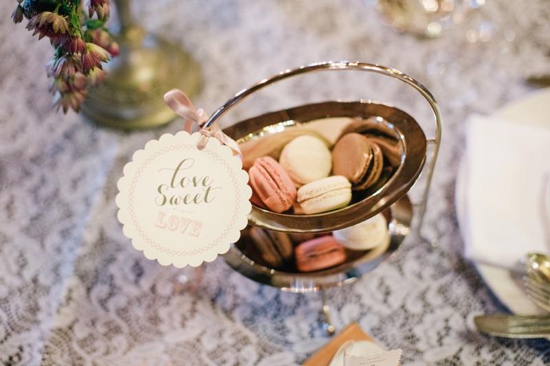 Vintage Romantic Garden Wedding Inspiration via TheELD.com