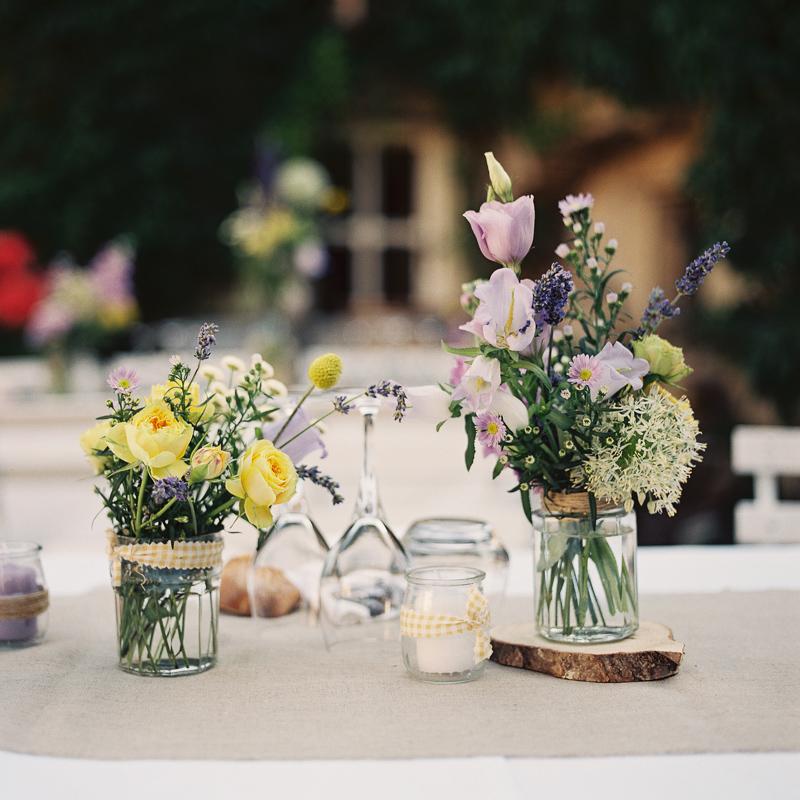 Rustic Lavender Southern France Wedding via TheELD.com