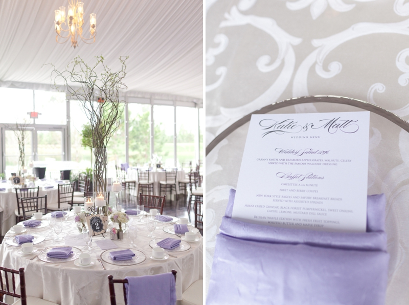 Lavender and White Sunday Brunch Florida Wedding | Every Last Detail
