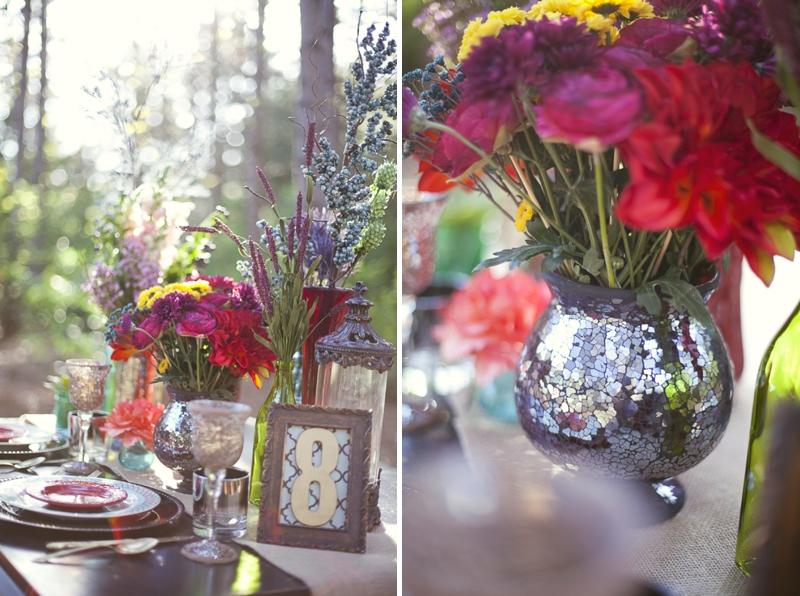 Rustic Bohemian Wedding Inspiration via TheELD.com